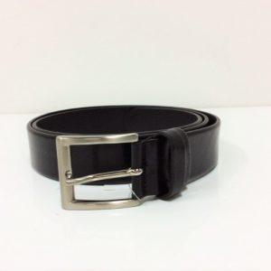 Cintura in pelle - Nero