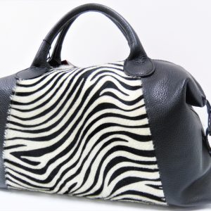 Borsa Made in Italy - Zebrata