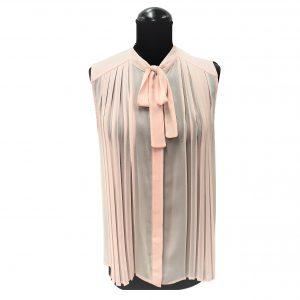 Camicia Edas Gurcia - cipria e bianco
