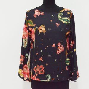 Camicia Griffai Motivo - Panna e Nero