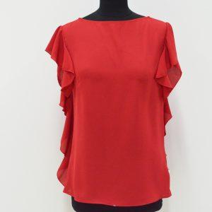 Camicia Smanicata - Rosso e Bianco