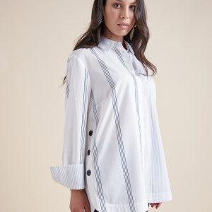 Camicia Bianca Bottoni Elena Mirò